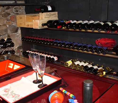 scraps wine storage cellar